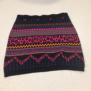 Fun knit skirt